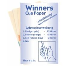 Наждачная бумага Winners набор 3 листа