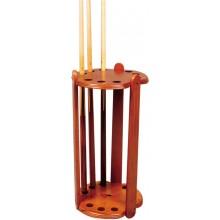 Киевница напольная Round De Luxe на 9 киев 68 см - коричневая