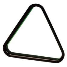 Треугольник ПУЛ Эконом 57,2 мм пластиковый  - черный