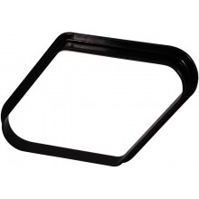 Треугольник ПУЛ Девятка 52,4мм пластиковый  - черный