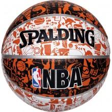Баскетбольный мяч Spalding NBA Grafitti №7