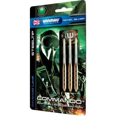Дротики для дартса Winmau Commando N/S  80%, 24 гр