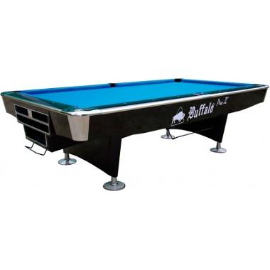 Бильярдный стол для пула Buffalo Pro - II 9 футов, DP - черный