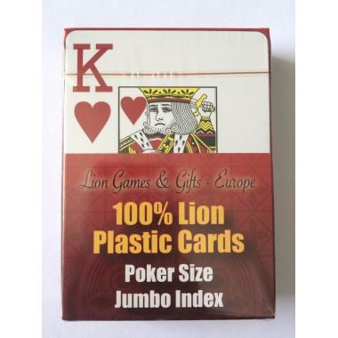 Карты покерные Lion Single пластиковые