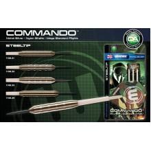 Дротики для дартса Winmau Commando N/S  80%, 21 гр