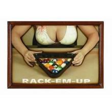 3D постер - Rack-Em-Up