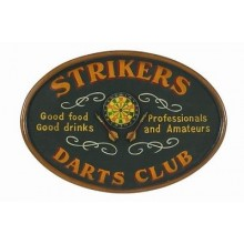 3D постер - Strikers Darts Club
