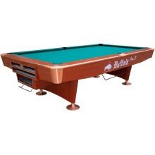 Бильярдный стол для пула Buffalo Pro - II 9 футов, DP - коричневый