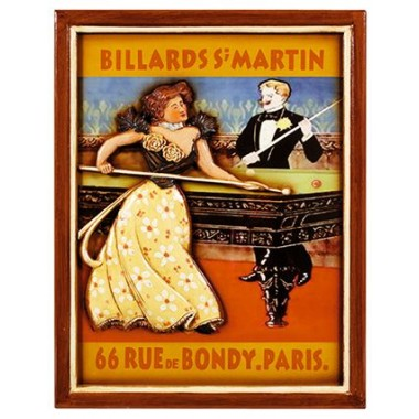 3D постер - Billiards S Martin 51/40