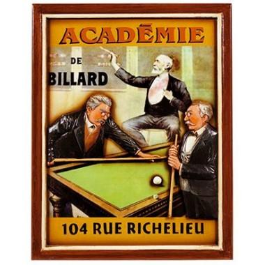 3D постер - Academy De Billiard 51/40