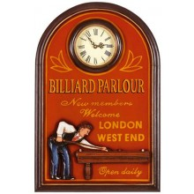 3D постер - Billiard Parlour London West 60/40